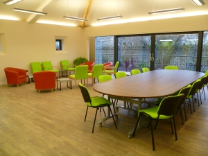 Inside the Bradbury Community Room