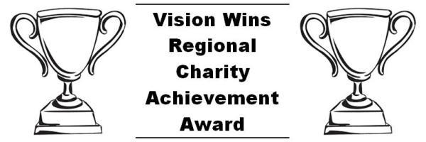 Vision Wins Regional Charity Achievement Award